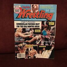 Inside Wrestling Victory Sports Series Magazine December 1991