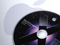 Apple Mac OS X 10.5  Leopard : CPU Drop-In DVD • Upgrade _ G4.G5+Intel