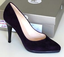 Peter Kaiser Womens Herdi Closed Toe High HEELS Grape Suede Leather UK Size 4