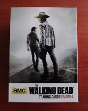 THE WALKING DEAD SEASON 4 PART ONE TRADING CARDS BASE SET
