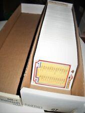 1992 Upperdeck Baseball Complete Set, #1-700, NM.-M.,(RC) Ramirez.