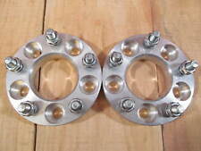 """5x100 to 5x112 USA Wheel Adapters 1.25"""" Thick 12x1.5 Lug Studs Spacers x 4 Rims"""