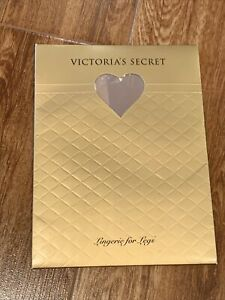 Victoria's Secret Vintage Lace Thigh High Stocking Lingerie For Legs Sm Buff NIP
