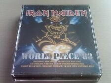 IRON MAIDEN - WORLD PIECE '83 - 6 CD BOX SET - LIVE 1983 - *FREE POST*