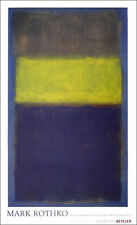 "Mark ROTHKO No. 2 No. 30 Yellow Center Poster 39"" x 27"""
