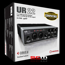 STEINBERG UR22 MKII AUDIO INTERFACE YAMAHA PREAMPS CUBASE AI SOFTWARE