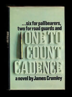 James Crumley / ONE TO COUNT CADENCE First Edition 1969
