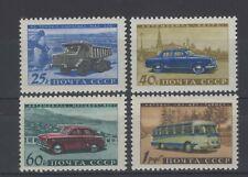 Russia 1960. Automotive Industry. Scott # 2397-2400. MNH, VF