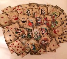 Alice In Wonderland Playing Cards Party Props - Set Of 52