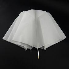 "37""/94cm Folded Studio Flash Light Speedlite Strobe Soft Umbrella White Diffuser"