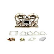 HP-Series Civic Crx Del Sol D15 D16 Ram Horn Equal Length T3 T3T4 Turbo Manifold