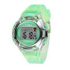 Waterproof Multifunction Sport Electronic Digital Watch For Child Boy Girl US