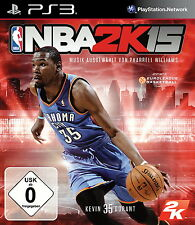 NBA 2K15 (Sony PlayStation 3, 2014, DVD-Box)