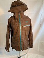 Mountain Hardwear Conduit Jacket Women's Large Brown Winter Jacket Pre-Owned