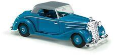 Busch 40526 - 1/87 / H0 Mercedes-Benz 170S Cabrio (Geschlossen) - Blau - Neu