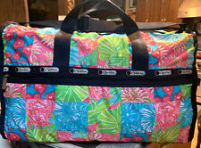 Lesportsac Large Weekender XL Convertible Crossbody Duffel Bag * fast shipping *