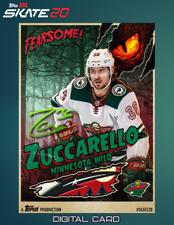 19-20 HALLOWEEN MONSTER SIGNATURE RELIC MATS ZUCCARELLO Topps NHL Skate Digital