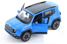 Maisto 1:24 Scale 2017 JEEP Renegade Jeep SUV Vehicles Car Model Toy Gift BLUE