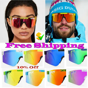 POLARIZED CYCLING UV400 OUTDOOR SPORTS GOGGLES EYEWEAR BICYCLE VIPER SUNGLASSES