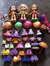 FISHER PRICE SNAP N STYLE LARGE LOT~Dolls, Outfits, Hats, Shoes, Access.~44 Pcs