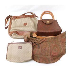 Celine PVC Nylon Hand/Shoulder Bag Clutch 4 pieces set 525504