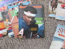 Sports Illustrated Magazines (12) Gretzky, Walter Payton & Muhammad Ali No Label