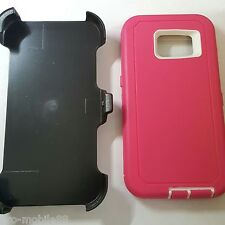 Samsung Galaxy S3 - Shockproof Tough Full Shell Case Clip Fits Otterbox Defender