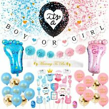 Baby Shower Gender Reveal Party Supplies Balloon Boy or Girl Photo Booth Prop US