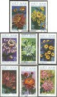 Vietnam 763-770 (kompl.Ausg.) gestempelt 1974 Chrysanthemen