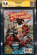 GAL GADOT SIGNED WONDER WOMAN 23 CGC 9.8 COMIC BOOK Not CBCS