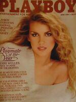 Playboy June 1981 | Terri Welles Cathy Larmouth       #1570