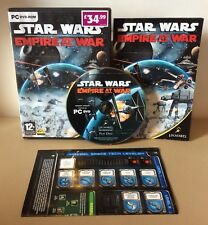 Star Wars Empire At War (PC DVD-ROM 2006) Excellent Condition Scratch-free Disc