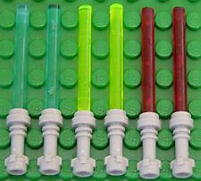 LEGO Star Wars - 6 x Laserschwert Lichtschwert in 3 Farben / 64567 30374 NEUWARE
