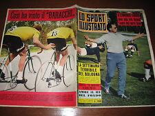 LO SPORT ILLUSTRATO GAZZETTA 1962/45 EDMONDO FABBRI JAIR INTER EUROPHON BASEBALL