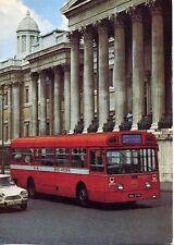 LONDON TRANSPORT MBA Single deck bus Citroen Ami unused 1970s postcard