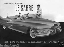 Harley Earl's 1951 1954 LeSabre Brochure Cover Restored  5 x 7  Giclee Print