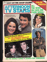 Afternoon TV Stars Magazine General Hospital Y&R All My Children May 1976