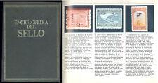 ENCICLOPEDIA DEL SELLO DE SARPE  3 TOMOS  EDICION 1975 GRAN FORMATO 1400 PAGINAS
