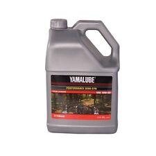 Yamalube Performance Semi-Synthetic Oil 10W-50 1 GALLON 10 w 50 10w 50 dirt bike