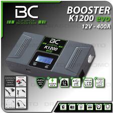 BC BATTERY BOOSTER K1200 démarreur voiture moto portable batterie urgence