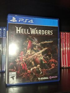Hell Warders PS4 PlayStation 4 preowned