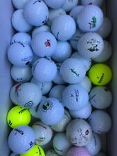 10 Golf Collectors Labeled Private/Resort/Public Course Golf Balls