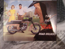 Prospekt Sales Brochure Norton Road Holders Model 50 Dominators Motorrad Bike