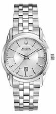 Bulova Accutron Sorengo Stainless Steel Ladies Watch 63M110