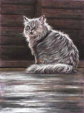 Tierporträt nach Fotovorlage Pastellporträt DIN A3, Tierportrait, Tierzeichnung