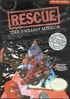 Rescue The Embassy Mission - Nitnendo NES Game Authentic