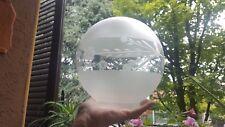 Antico paralume vetro Inciso globo per lampada da appoggio stile vittoriano