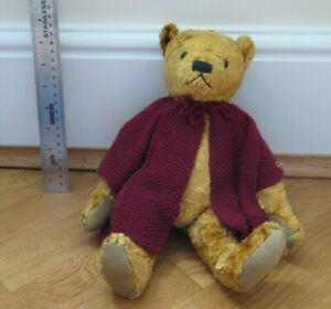 NAOMI LAIGHT COLLECTORS BEARS Limited Edn 79/150 JOSH Blond Bear with jacket