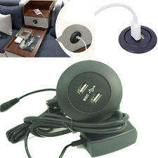 Dual usb power outlet phone Charging For Full Electric recliner lounge cinema