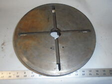 """MACHINIST LATHE MILL Machinist 11"""" T Slot Face Plate for Lathe"""